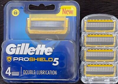 AU17.98 • Buy Gillette Fusion Proshield Razor Blades Brand New Single 4 Pack Made In Germany