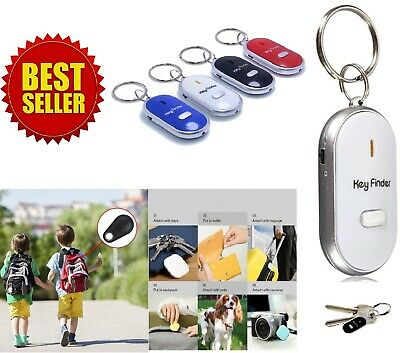 Lost Key Finder Flashing Beeping Locator Remote Chain LED Sonic Torch UK. • 2.35£