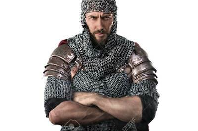 $47.69 • Buy HALLOWEEN Chainmail Armor Costume 20 Inch 8 Mm Round Butted 16 SWG High QC