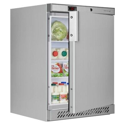 Tefcold UR200SB Under Counter Stainless Steel Fridge  (Boxed New) • 579£