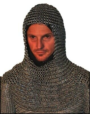 $47.87 • Buy HALLOWEEN Chainmail Armor Costume 20 Inch 10 Mm Butted 16 SWG High Tensile QC
