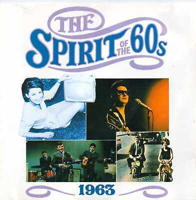 The Spirit Of The 60's (Time Life) 1963 (1990) CD Album • 3.99£