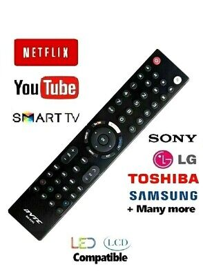 Universal Remote TV Control LG Sony Toshiba Samsung + Smart TV 3D LCD LED HD TV  • 4.99£