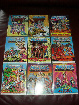 $55 • Buy Masters Of The Universe MOTU He-Man Mini Comic Lot Of 9 Very Good To Near Mint