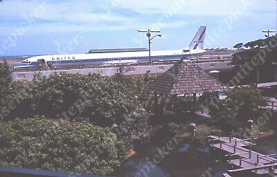 $7.99 • Buy Sl00 Original Slide 1969 TAIWAN AIRPORT UNITED AIRLINES AIRPLANE N8082U 129A