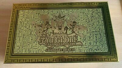 Empty - Yugioh! Gold Legendary Decks Ii 2 Box - 500+ Card Storage New Ldk2 • 5.95£