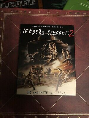 $100 • Buy Jeepers Creepers 2 Scream Factory Blu Ray With Slipcover Rare OOP