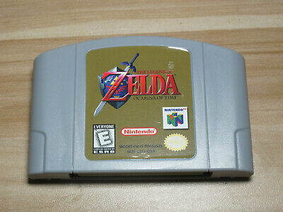 $18.99 • Buy The Legend Of Zelda Ocarina Of Time 64 Game Cartridge For Nintendo N64 Console