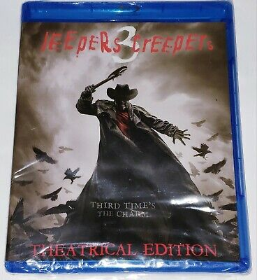 $11.99 • Buy Jeepers Creepers 3 (Blu-ray Disc, 2017) NEW SEALED