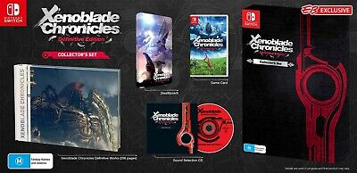 AU270 • Buy Xenoblade Chronicles Definitive Edition Collectors Set Nintendo Switch - IN HAND