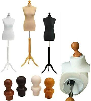 Female Tailors Dummy Size 12-14 Fashion Student Dress Display Bust Mannequin • 25.95£