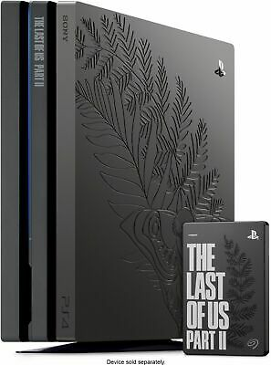 AU1336.13 • Buy The Last Of Us 2 PS4 PlayStation 4 Pro Bundle + Exclusive Seagate 2TB Hard Drive