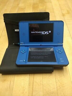 $25 • Buy Nintendo DSi XL Midnight Blue System W/ Charger, 3 Games, Stylus, Case Beautiful