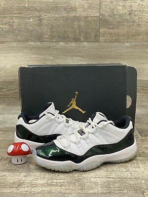 $169.99 • Buy Nike Air Jordan 11 XI Retro Low Easter Emerald Green White Size 9.5 528895-145