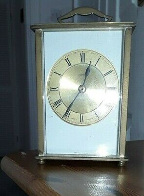 Metamec Carriage Clock Brass Transistor - Battery Operated -  Slightly Tarnished • 16£