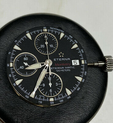 $650 • Buy ETERNA Monterey 1630.41 Valjoux 7750 Chronograph Dial, Movement And Other Parts
