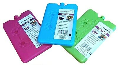 £2.99 • Buy New Reusable Freezer Cool Blocks Ice Pack Cooler Bag Picnic Travel Lunch Box