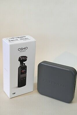 $305 • Buy MINT! DJI Osmo Pocket 4K Gimbal Stabilized Handheld Camera + FREEWELL Filters