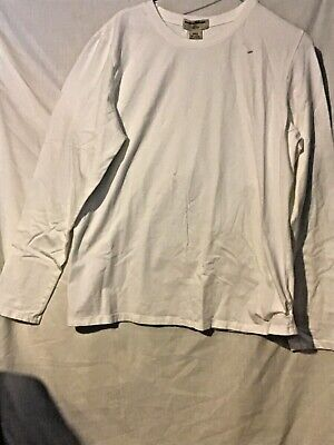 $10.99 • Buy J.Crew... XL White Long Sleeve/Round Neck Pullover Shirts