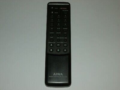 Aiwa RC-C103 CD Player HiFi Remote Control Genuine Original For Aiwa XC-500 • 15£