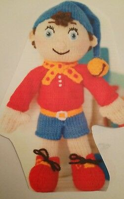 Knitting Pattern Noddy Doll Toy In Double Knit 27cm 10.5in Tall • 2.40£
