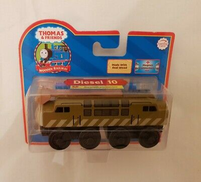 Thomas The Tank & Friends WOOD DIESEL 10 TRAIN WOODEN NEW IN BOX LEARNING CURVE • 49.99£