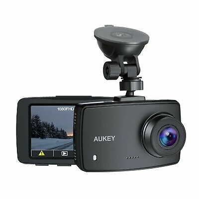 AU54.53 • Buy AUKEY DASH CAM 1080p DASHBOARD CAMERA FOR CARS 6 LANE LENS 2.7  LCD NEW GIFT