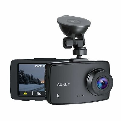 AU54.16 • Buy AUKEY DASH CAM 1080p DASHBOARD CAMERA FOR CARS 6 LANE LENS 2.7  LCD NEW GIFT