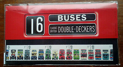 $ CDN6.75 • Buy British Double Decker Bus Mnh Stamps & Sheet Of Tickets ' The Full Set '