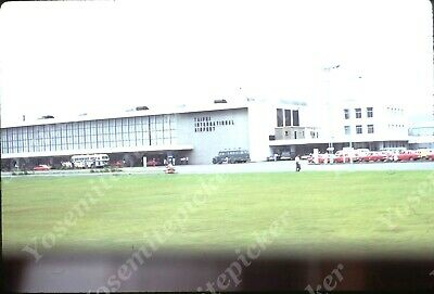 $7.99 • Buy Sl00 Original Slide 1969 TAIPEI INTERNATIONAL AIRPORT CARS BUSES 197A