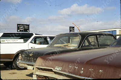 $7.99 • Buy Sl00 Original Slide 1970's Omaha Airport Parking Lot Buick Falcon 534a