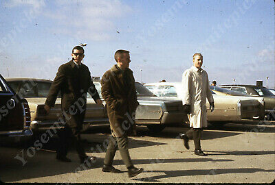 $7.99 • Buy Sl00 Original Slide 1970's Omaha Airport Parking Lot Cars 539a