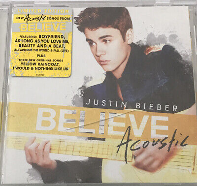AU14.25 • Buy Justin Bieber Believe Acoustic (Limited Edition) (CD, 2013)