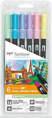 Tombow ABT Dual Brush Pen - Pastel (Pack Of 6)  • 18.09£