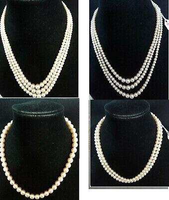 $ CDN20.57 • Buy Vintage Special Costume Pearls - Lots Of Styles To Choose From