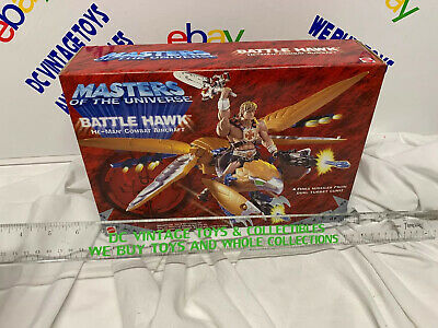 $49.99 • Buy Mattel Masters Of The Universe BATTLE HAWK HE-MAN COMBAT Aircraft Sealed 2001