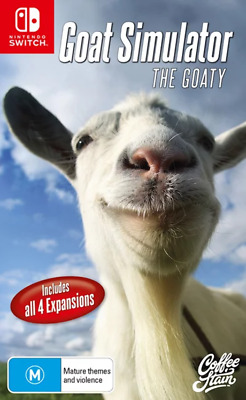 AU42.95 • Buy Goat Simulator The Goaty Switch Game NEW