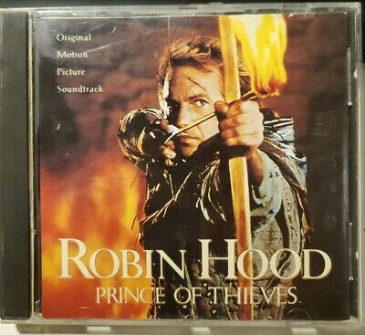 £2.85 • Buy Robin Hood Prince Of Thieves Original Motion Picture Soundtrack CD 1991 Costner