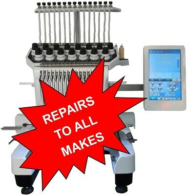 Industrial Embroidery Machine Service And Repairs • 250£