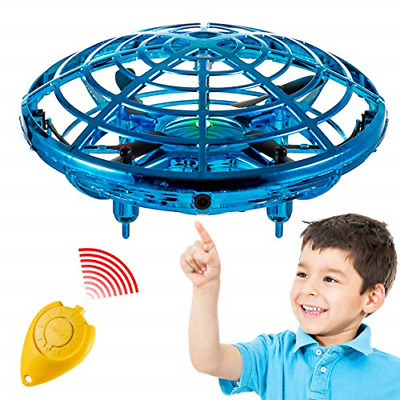 AU29.81 • Buy Hand Operated Mini Toy Drone For Kids, Upgraded UFO Flying Ball Toy With LEDs,