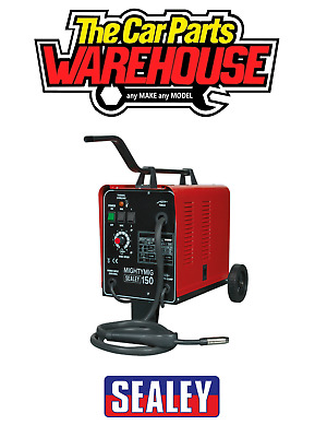Sealey 30-150Amp Professional Gasless / No Gas Mig Welder Unit 230v MIGHTYMIG150 • 224.95£