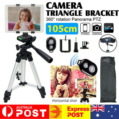 AU22.73 • Buy Adjustable Camera Tripod Mount Stand Holder For IPhone Samsung + Remote Control