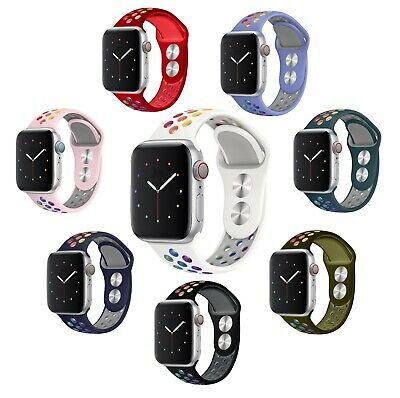 $ CDN12.33 • Buy PRIDE Silicone Apple Watch Band Strap Series 5 4 3 2 1 IWatch 38/40mm 42/44mm