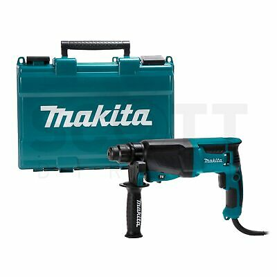 View Details Makita HR2630 SDS+ 3 Mode Rotary Hammer Drill 240V + Carry Case • 110.99£