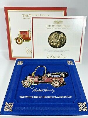 White House Historical Association Christmas Ornament 2016 Fire Truck Hoover • 15.66£