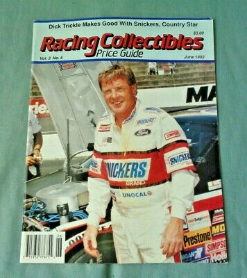 $9.95 • Buy 1992 Racing Collectibles Price Guide Nascar Stock Car Racing Dick Trickle Cover