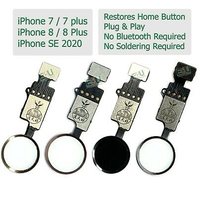 For Apple IPhone 7 To 8 Plus Home Button Flex Functional Restore No Bluetooth • 4.95£