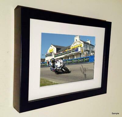 Ltd Edition Signed Guy Martin 2014 Isle Man TT Autographed Photograph Picture 3 • 30£