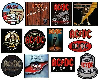 £2.99 • Buy Official AC/DC ACDC Merchandise SEW ON PATCH Dirty Deeds High Voltage Rock Bust