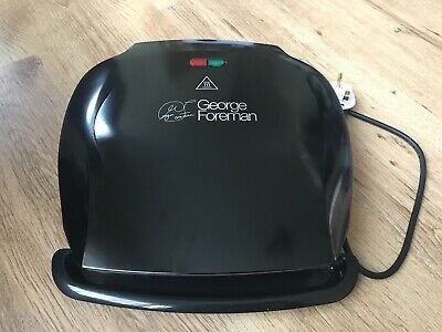 £20 • Buy George Foreman 5 Portion Family Grill Fat Reducing Health 18870 Black & Boxed